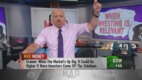 Cramer tracks the return of stock-picking and the individual investor