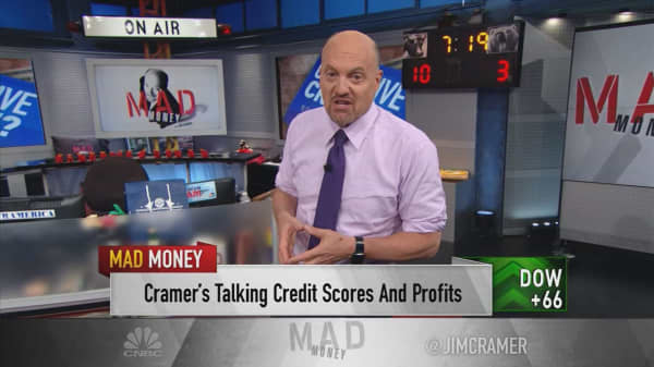 Cramer finds a not-so-sexy stock that's definitive of the market rally