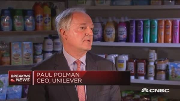 Strong growth driven by emerging markets: Unilever CEO