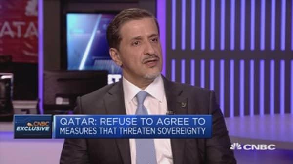Time for 'negotiation and dialogue, not confrontation': Qatar ambassador