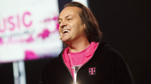 John Legere, chief executive officer of T-Mobile US
