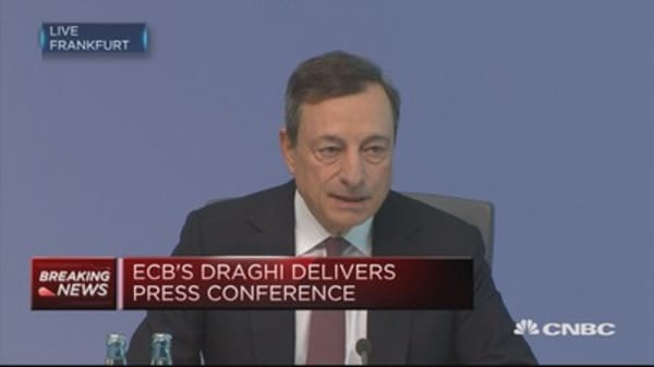 ECB to keep interest rates unchanged: Draghi