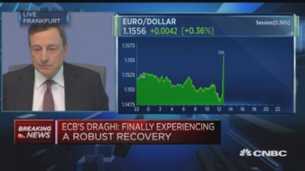 Inflation is not where we want it to be: Mario Draghi