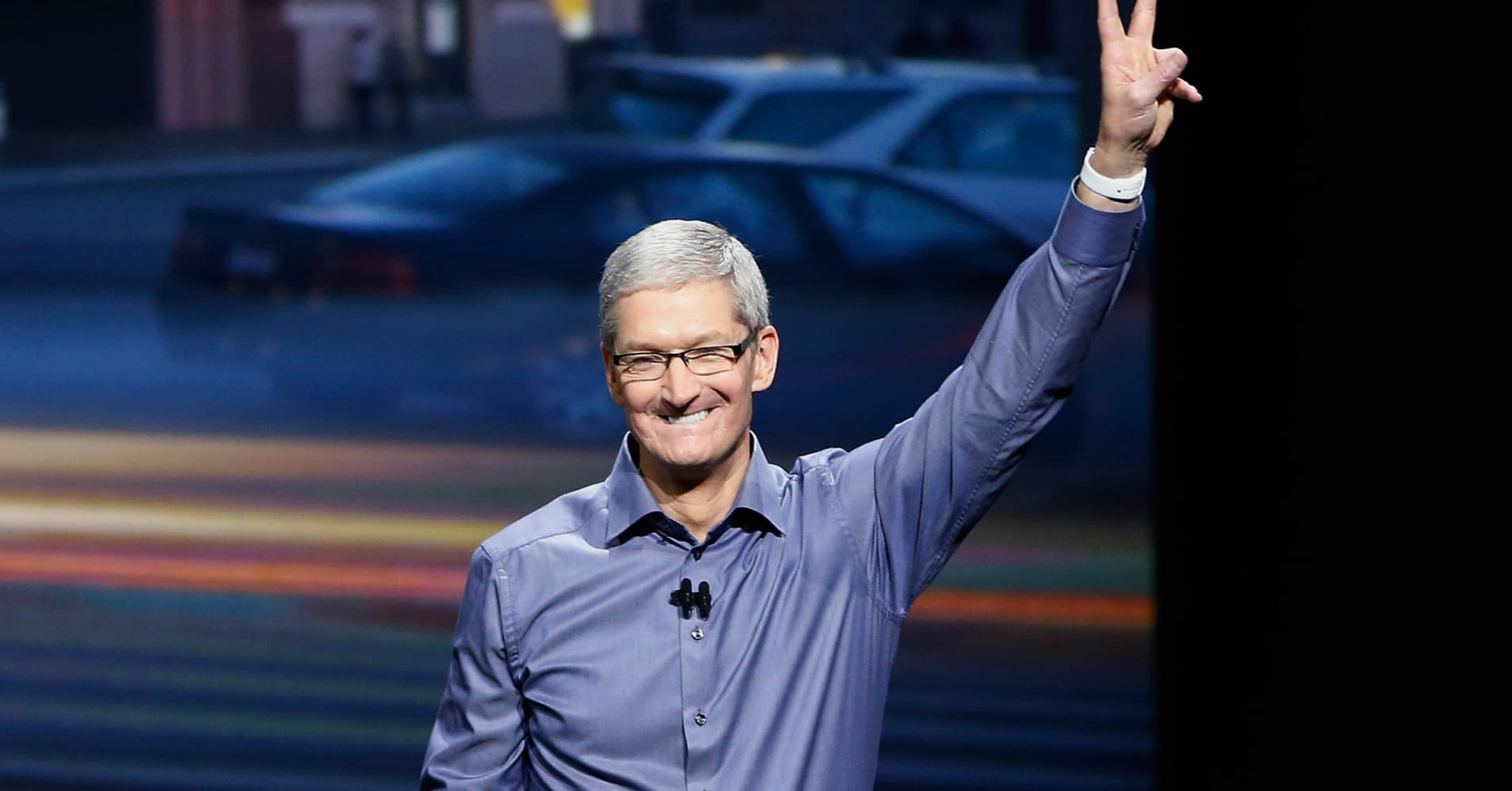 Tim Cook was the second highest-paid executive of 2016, pulling in $150,036,907
