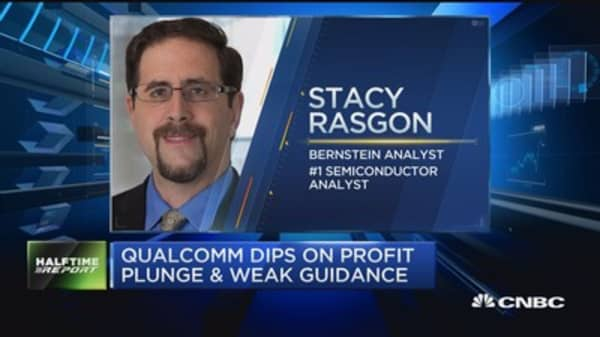 Rasgon: Qualcomm earnings were worse than they appear