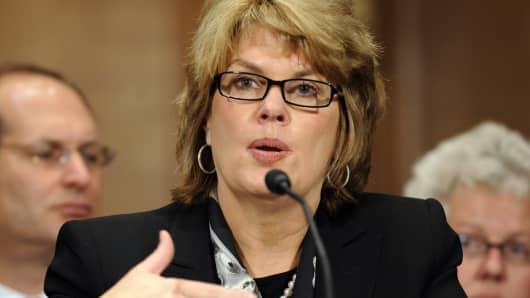 Anne Finucane, Bank of America vice chairman.