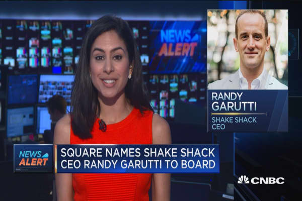 Square names Shake Shack CEO Randy Garutti to board