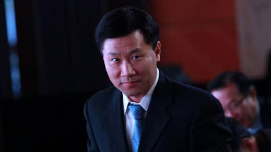 Yao Gang, former vice chairman of China Securities Regulatory Commission (CSRC).