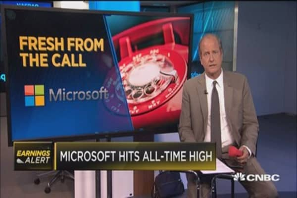 Here's why one analyst says Wall Street should be encouraged following Microsoft's earnings call