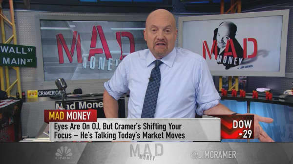 Cramer explains how to handle Amazon-fueled market rotations