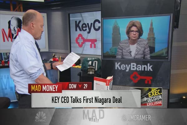 KeyCorp CEO Beth Mooney says economic stimulus will have 'a coiled-spring effect' on banks' capital