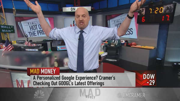 Cramer makes the case for buying stock in the ever-innovating FANG companies