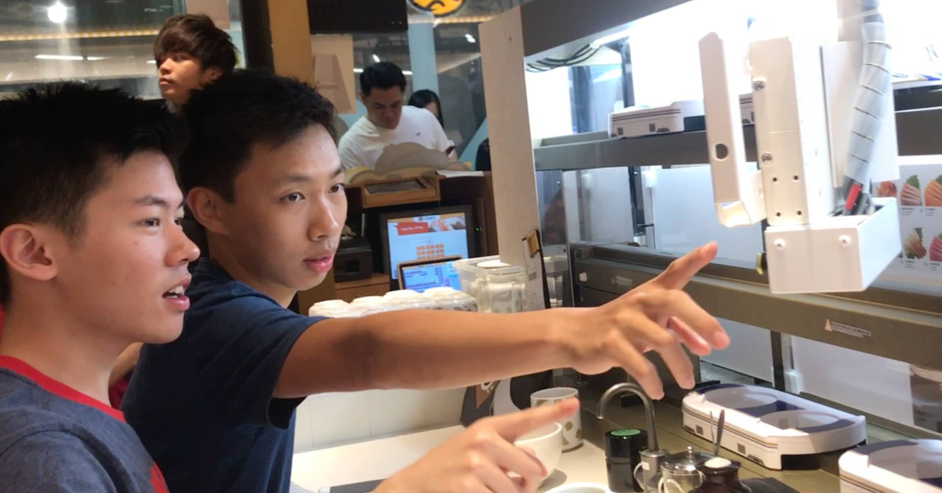 Hong Kong's automated-sushi restaurant: An attempt to not interact with any humans