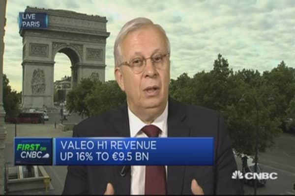 Clear trend of diesel decline, electric growth: Valeo CEO