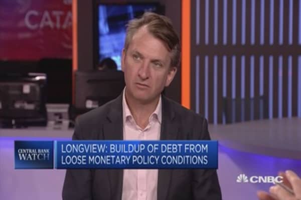 Build-up of debt from loose monetary policy conditions: Longview