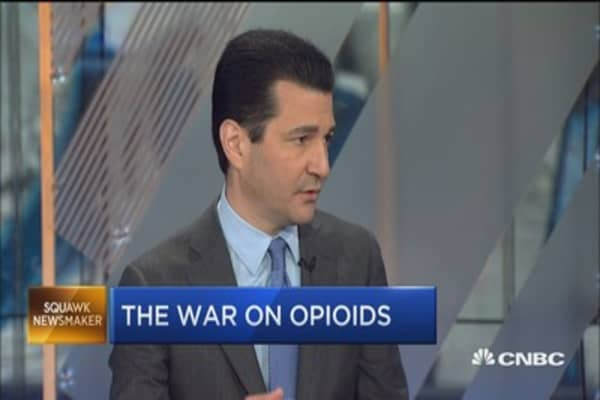 FDA's Scott Gottlieb: Opioid addiction is FDA's biggest crisis now