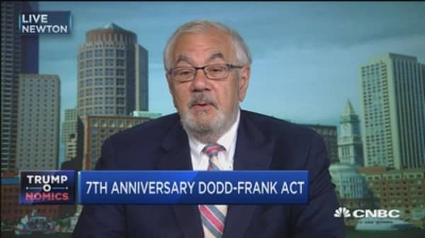 Barney Frank: There will be changes to Dodd-Frank but no sustained assault
