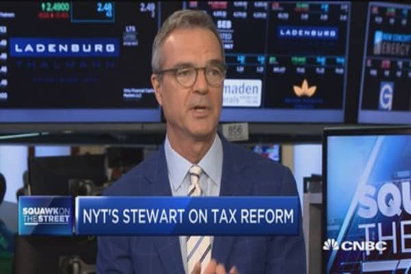 NYT's Jim Stewart: Can we do Reagan-era tax reform again?