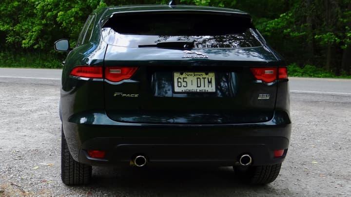 CNBC Tech: Jaguar F Pace 3