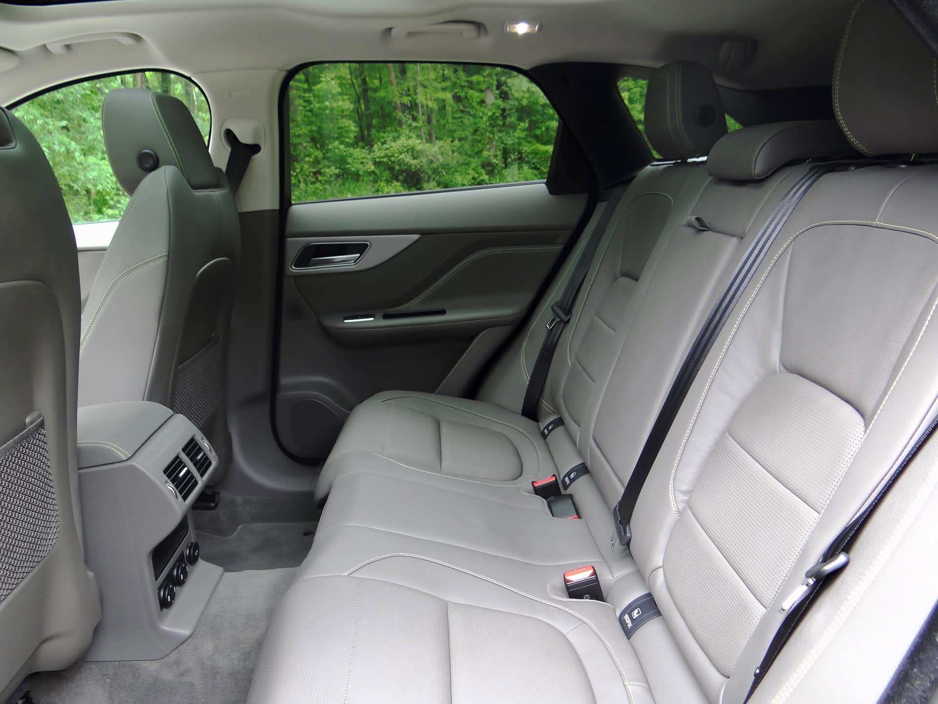 2017 Jaguar F Pace 35t R Sport Review Suv Interior