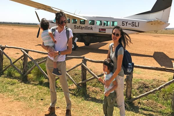 This couple goes on round-the-world trips for free using credit card points