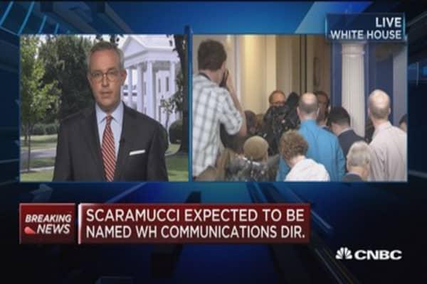 Significant political comeback for Scaramucci