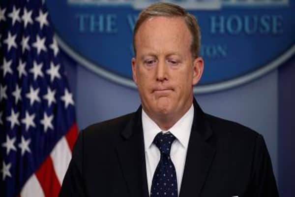 Sean Spicer resigns over Anthony Scaramucci appointment: New York Times
