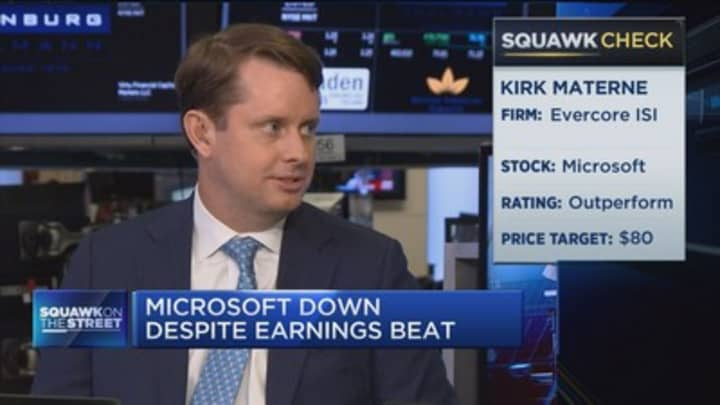 Hope Microsoft creates a 'walled garden' to emulate Apple and Facebook: Canaccord Genuity's Richard Davis