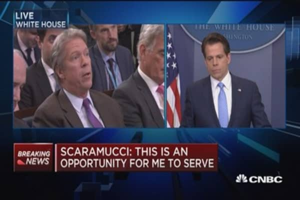 Anthony Scaramucci: No friction with Sean Spicer, Reince Priebus