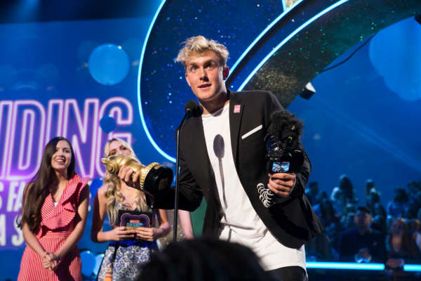 Social media star Jake Paul
