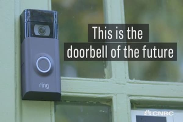 This is the doorbell of the future