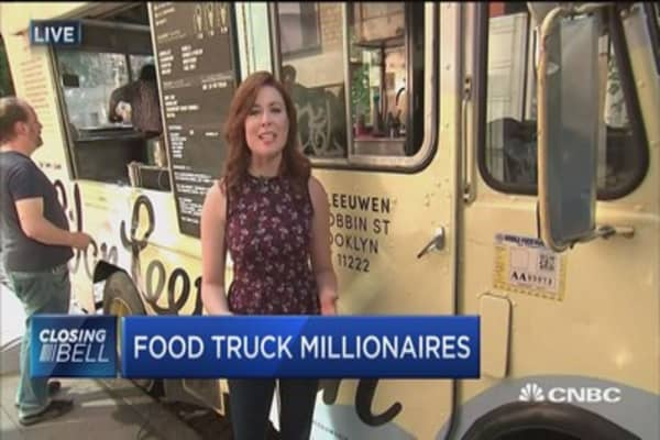 Ice cream truck on track to bring $20 million in revenue