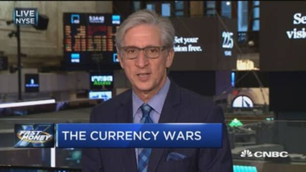 The currency wars are heating up and it could spell trouble for the global markets