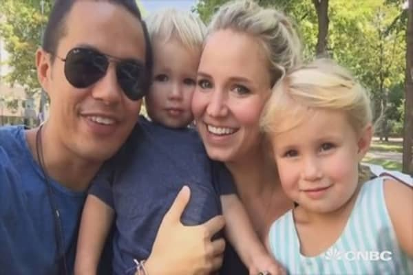 This family's been on permanent vacation since dad sold his company for $54 million