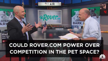 Cramer's Exec Cut: The unique position that could help Rover.com dominate the pet care market