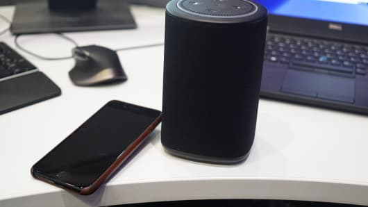 CNBC Tech: Echo Dot speaker 8