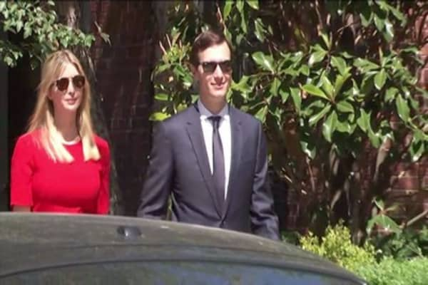 Trump son-in-law Kushner denies collusion with Russia