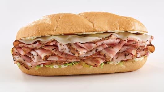 Arby's Porchetta sandwich