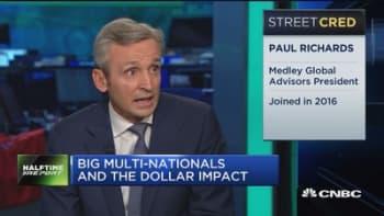 Dollar will lower until Washington passes tax reform: Medley Global Advisors' Paul Richards