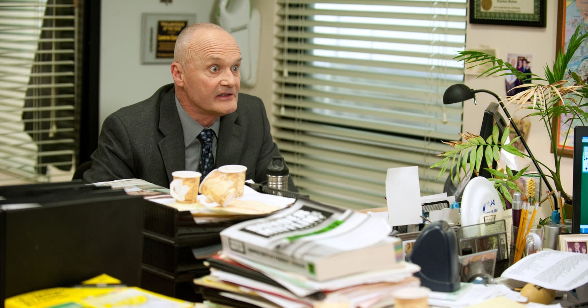 Creed Bratton in NBC's The Office