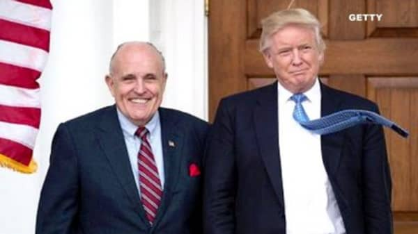 Trump reportedly floats making Rudy Giuliani attorney general