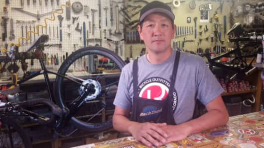 To attract skilled employees, Tony Song, owner of Evergreen Bicycle Outfitters in Evergreen, Colorado, offers a health-care stipend, paid time off and flexibility.