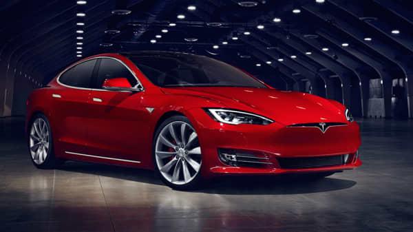 Tesla Model S 75.