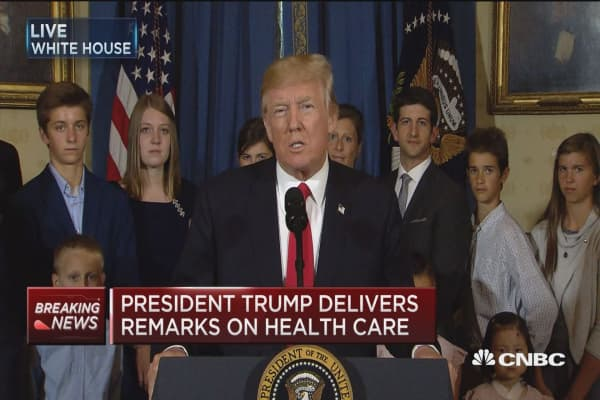 Trump: Obamacare has wreaked havoc on Americans