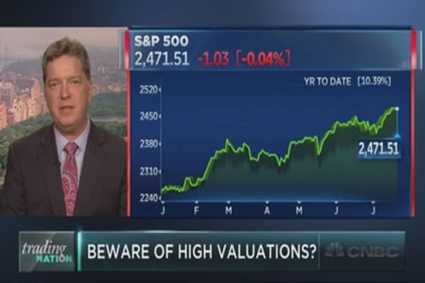 Strategist makes case for straying from U.S. stocks