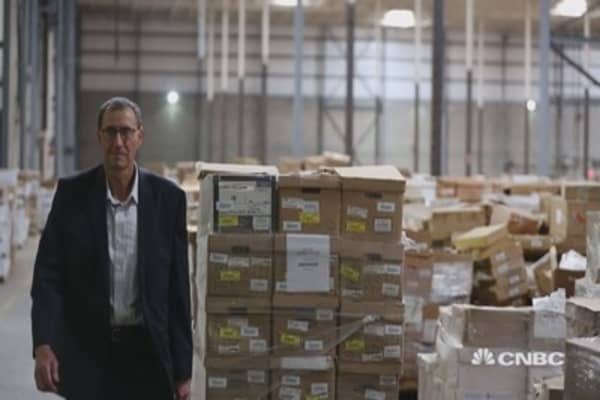 CEO triples revenue by transitioning from paper storage to digital content management