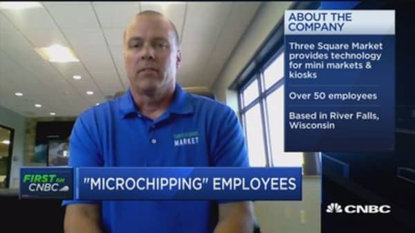 Three Square Market CEO on new microchip technology