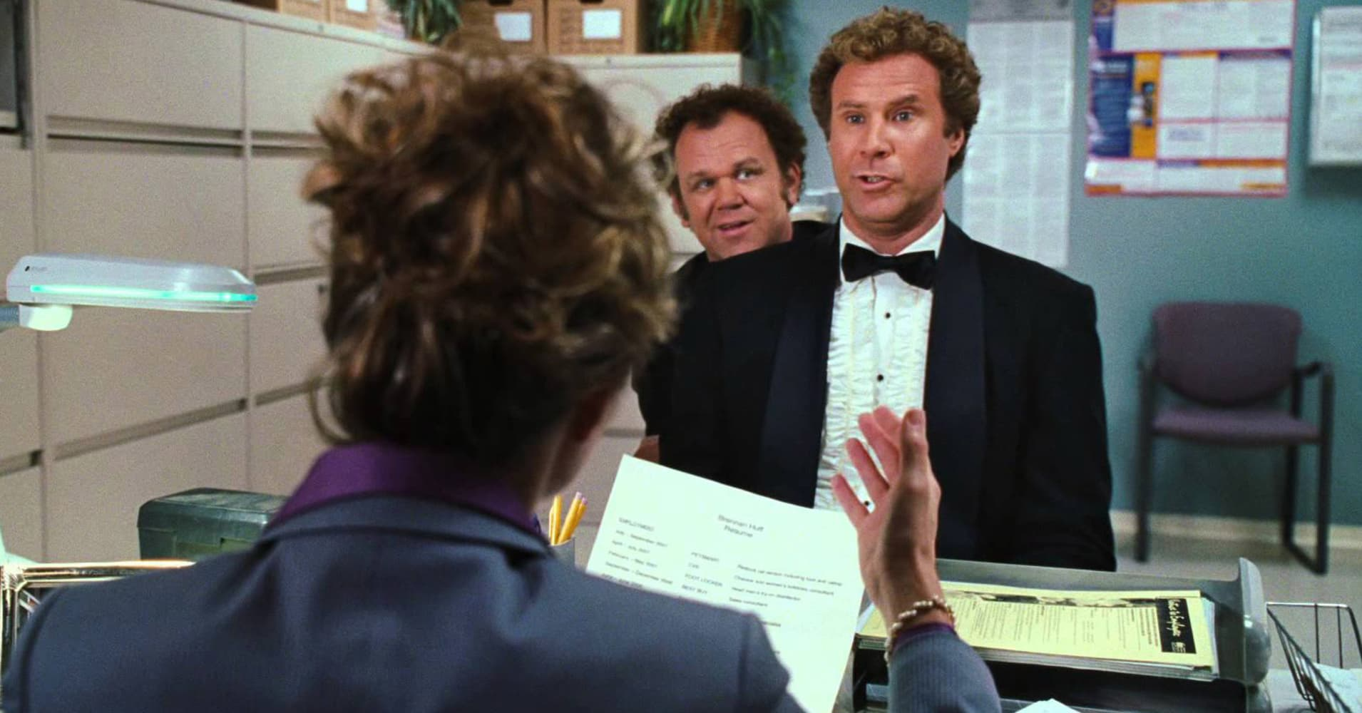 Will Ferrell and John C. Reilly in Stepbrothers.