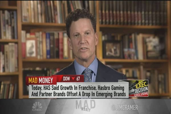 Hasbro CEO: The boost from eSports