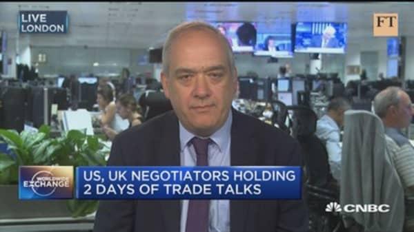 A post-Brexit trade deal